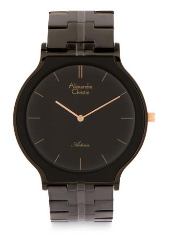 Alexandre Christie black Alexandre Christie Jam Tangan Pria - Black - Stainless Steel - 8410 MHBIPBA 918A6AC2F763EBGS_1
