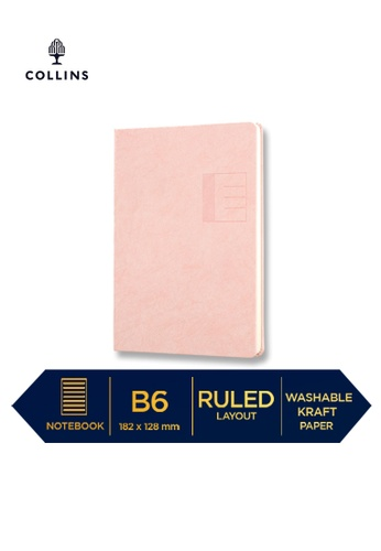 Collins pink Collins Serendipity   ─  Notebook B6 Ruled Pink 39C47HL52A9471GS_1