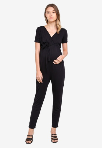 Dorothy Perkins black Maternity Black Short Sleeve C888CAA940F2E6GS_1