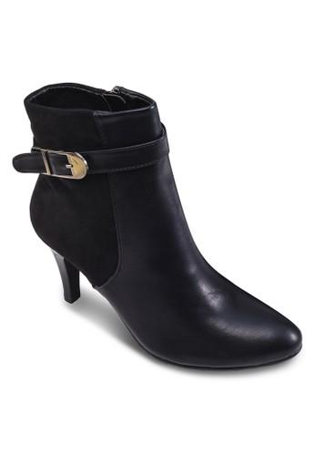 拼接高跟踝靴esprit hk, 女鞋, 鞋