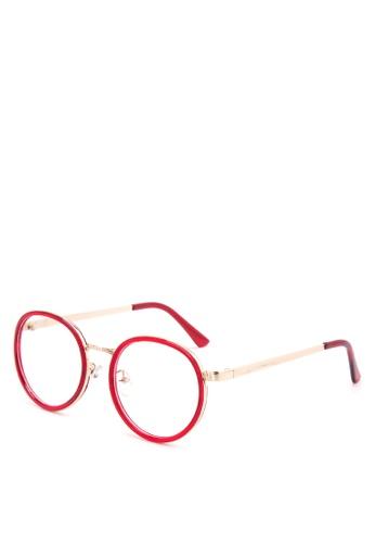 Kimberley Eyewear red and gold La La Land Glasses KI426GL70YMZPH_1