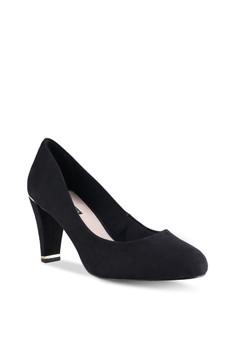 Dotty p black dress high heels
