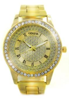 Geneva Jaden Stainless Steel Watch BUS088