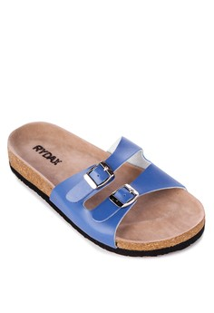 Claudine two straps Flat Slides