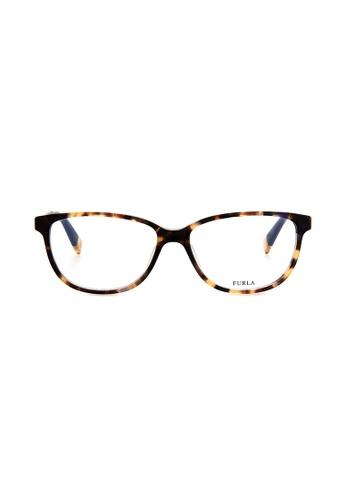 Furla Furla VU4973 Tortoise Eyeglasses  FU454AC0RAMVMY_1