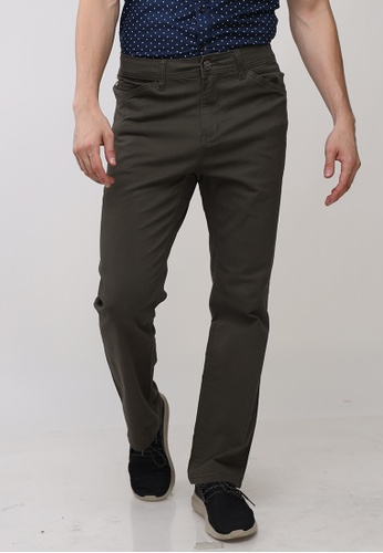 Ego brown Colored Long Pants Reg Staright CB587AABFC4E64GS_1