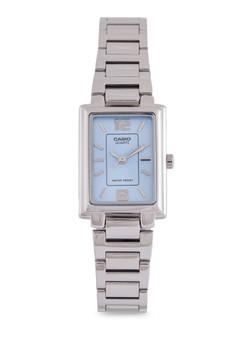 【ZALORA】 Casio LTP-1238D-2ADF 不銹鋼錶