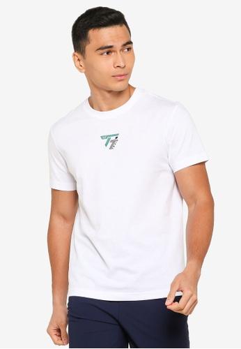 361° white Cross Training Short Sleeve T-Shirt EA0C6AA5F95E9EGS_1