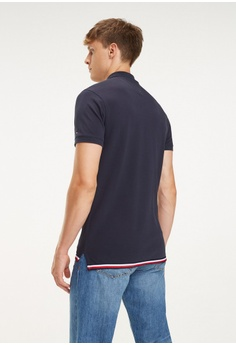b7c29b7c2ca2d 20% OFF Tommy Hilfiger Global Striped Hem Slim Polo RM 499.00 NOW RM 399.20  Sizes S M L XXL
