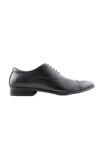 Rad Russel 黑色 Rad Russel Lace Up Oxford RA654SH40QGPSG_1