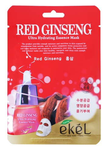 Ekel Red Ginseng Ultra Hydrating Essence Mask 9D4EDBEBDD1FF5GS_1