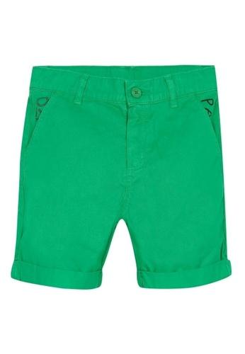 KENZO KIDS green KENZO BOYS BERMUDAS 6F419KAE6C73A2GS_1
