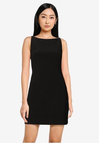 Forever New black Raegan Bodycon Mini Dress 2620EAAF7DC691GS_1