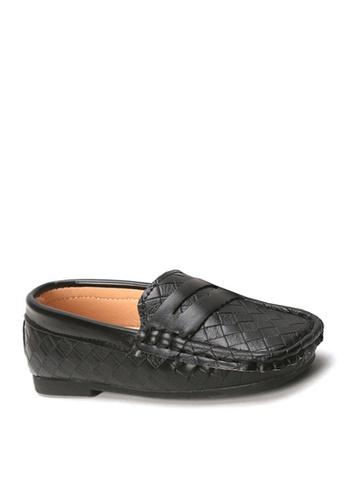 Twenty Eight Shoes 黑色 VANSA  織面平底鞋  VSK-F352 C73DFKS963B025GS_1