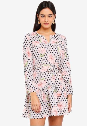 ZALORA multi Relaxed Boho Dress 86838AAF394503GS_1