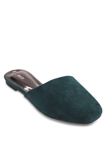 麂皮休閒穆勒鞋, 女鞋esprit hk office, 鞋