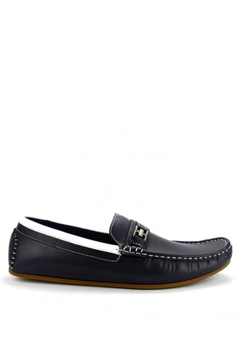 Cardam's Lifestyle navy Ridley Casual Loafers AE329SHEBC625BGS_1