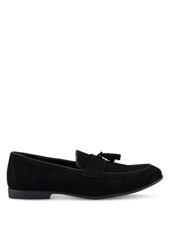 Topman black Black Prince Loafers 8AED7SH5B8CC7AGS_1