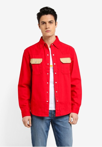 Calvin Klein 多色 Archive Western Shirt - Calvin Klein Jeans 51403AA083F24DGS_1