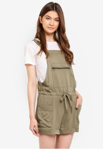 Something Borrowed green 2-In-1 Utility Romper 6A2C1AA84EE9A0GS_1