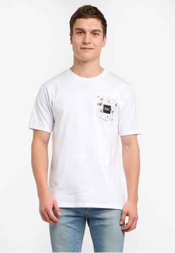 Pestle & Mortar 白色 Laurel Pocket Tee PE354AA0SJ8HMY_1