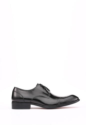 Kings Collection black Maxfield Formal Shoes 8C982SH285FD82GS_1