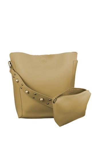 MAYONETTE multi MAYONETTE Merra Pearl Sling Bag - Tas Selempang Wanita - Khaki 290B3AC70FF963GS_1