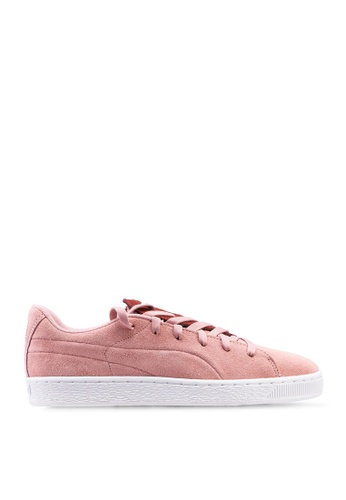 PUMA pink Sportstyle Prime Suede Crush Pearl Studs Shoes 15323SH0160539GS_1