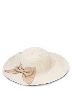 可折疊蝴蝶結UV 圓頂帽