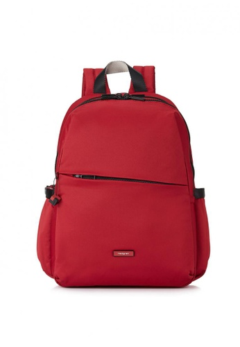 Hedgren red Cosmos Backpack 82649AC30E4A34GS_1