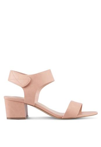 ALDO pink Evonna Heeled Sandals B6D87SH7A63E7DGS_1
