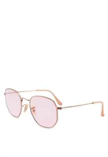 Ray-Ban 褐色 Icons RB3548N Sunglasses 0130FGL0D64338GS_1