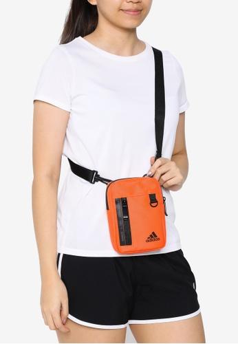 ADIDAS orange new classic organiser sling bag 8FE67ACDCB4CF0GS_1