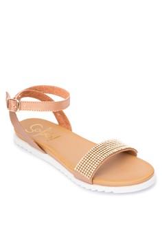 Amber Flats Sandals