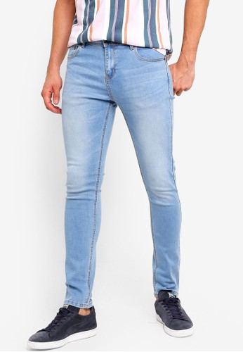 Penshoppe blue Slim Fit Mid Rise Jeans 45271AA973F514GS_1