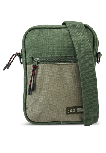 Jack & Jones green Vance Sling Bag 02C84ACDCD3592GS_1