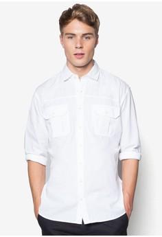 Regular Fit Chest-Pocket Shirt