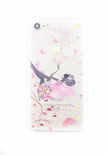 Fancy Cellphone Cases multi Fairy Soft Transparent Case for iPhone 7 FA644AC0JCSJPH_1