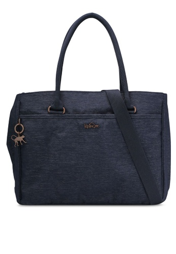 Kipling blue and navy Artego Top Handle Bag KI702AC0RN70MY_1