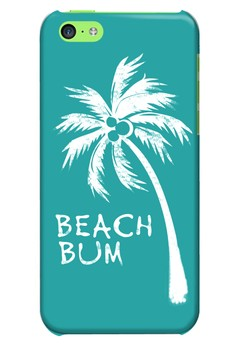 Beach Bum Glossy Hard Case for iPhone 5c