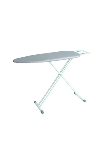 JVD JVD Lifestyle Prestige LARGE Iron Board with Premium Board Cover and Iron Rest, White DA419HL6A8182CGS_1