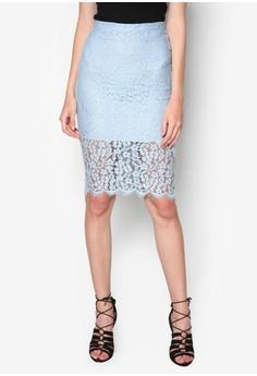Sienna 蕾絲及膝裙