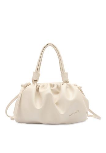 PLAYBOY BUNNY white Top Handle Sling Bag 3D1C4ACE8B3D25GS_1