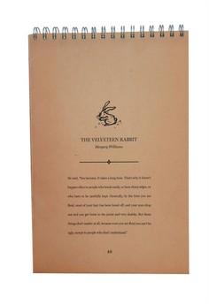 Velveteen Rabbit Sketch Pad
