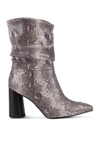 BETSY beige Paisley Boots 193CDSHEF8A85CGS_1