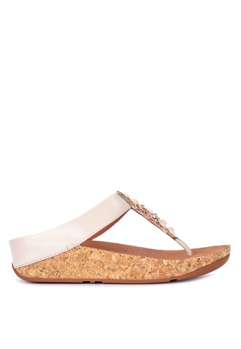 517acb972d8 ... Fitflop beige Ruffle Toe Thong Sandals 8254BSHEB8C6F5GS 1 good selling  5733f cebcd ...