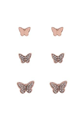 ALDO gold Canopus Pierced Earrings 2F2F7AC9D015F8GS_1