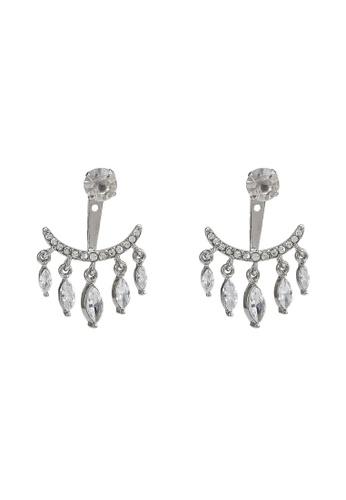 ALDO silver Glevia Pierced Earrings C2921AC017EB5FGS_1