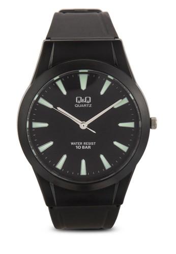 VQ50J00尖沙咀 esprit outlet5Y 刻度顯示橡膠手錶, 錶類, 飾品配件