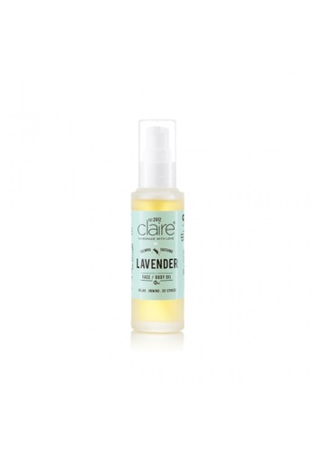 Claire Organics Calming Lavender Face and Body Oil CL318BE66GYNMY_1